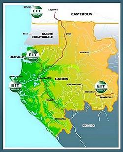 Equipementier-secteur-industriel-tertiaire-electricite-instrumentation-telecomunications-Carte-Gabon